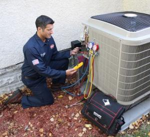 a professional heating and air conditioning repair in Alexandria, VA